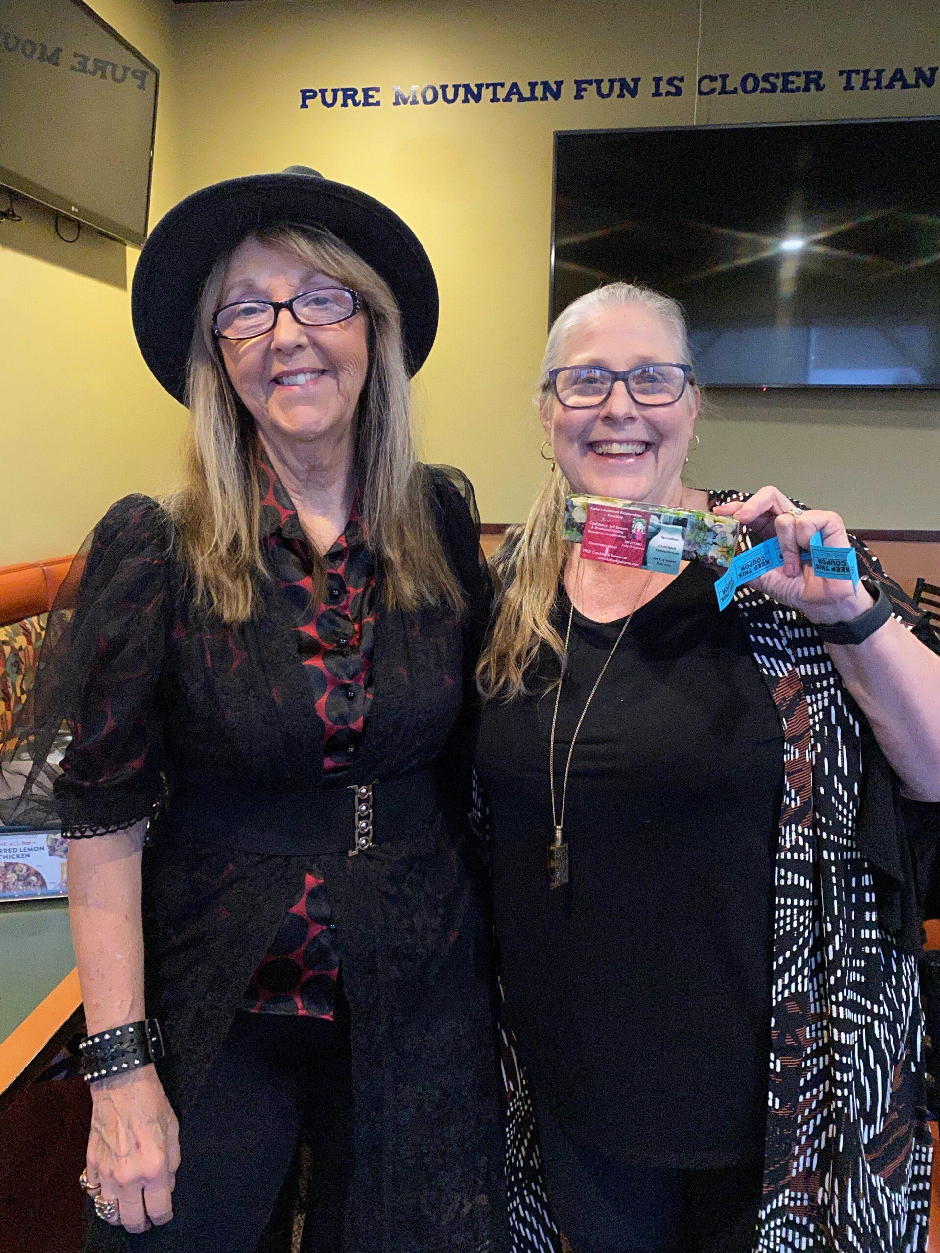 Kathy & Shana